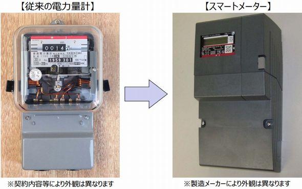 スマートメーター出典:東京電力
